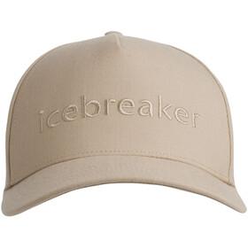 Icebreaker Logo Casquette, british tan